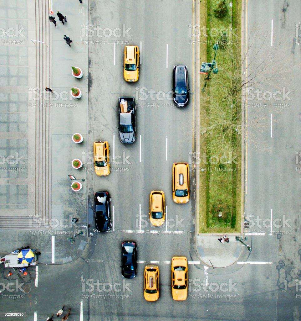 New york cars stock photo