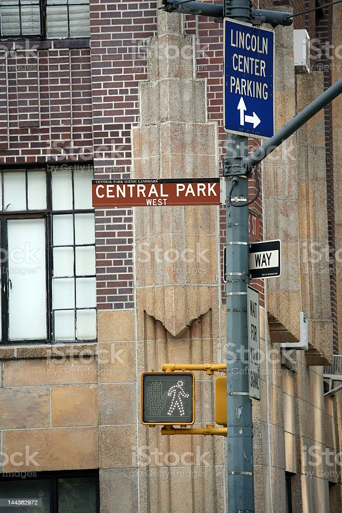 New York: Central Park stock photo