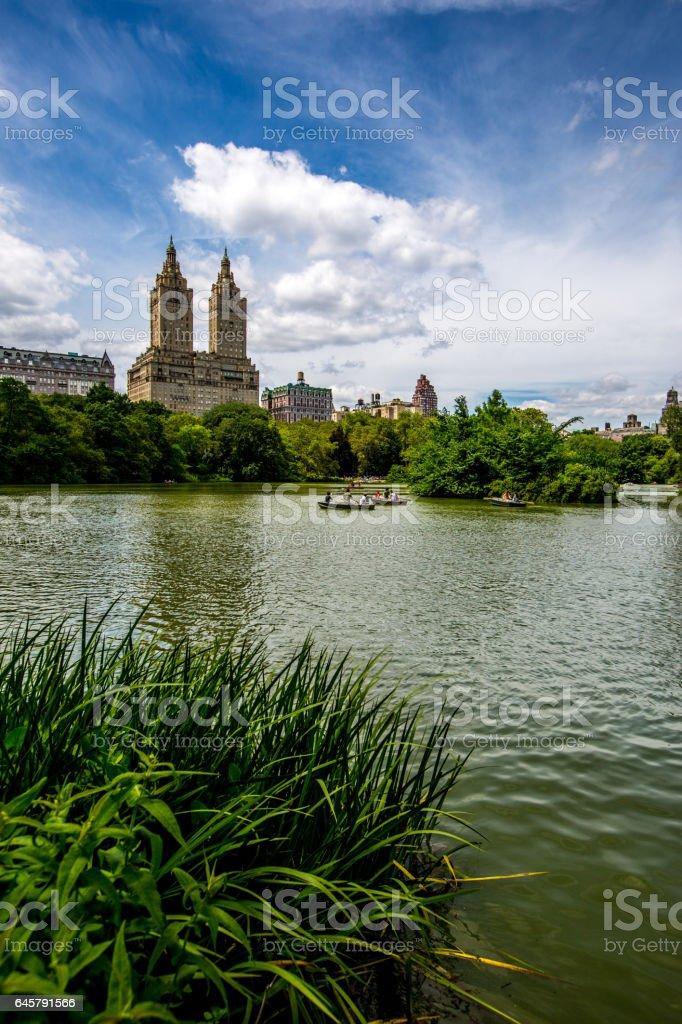 New York Central Park stock photo
