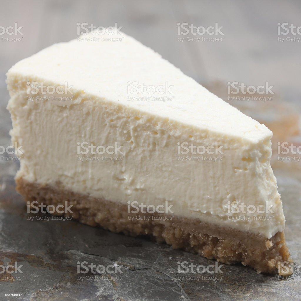 New York Cheesecake royalty-free stock photo