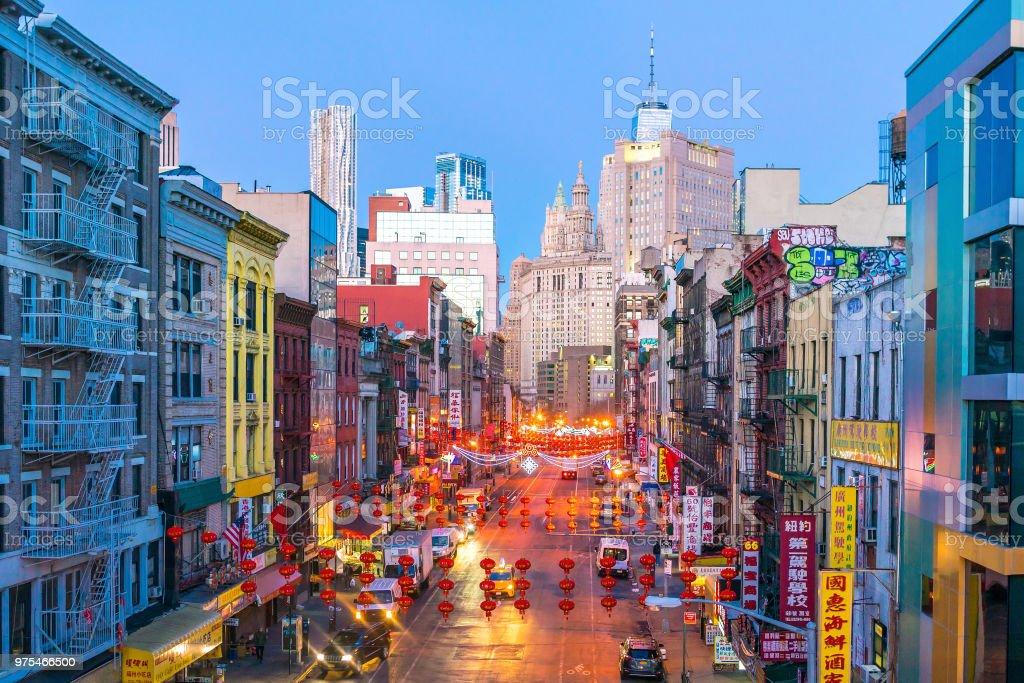 New York Chinatown Of Manhattan Stock Photo Download Image Now Istock