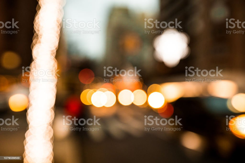 New York Christmas Market in Union Square stock photo