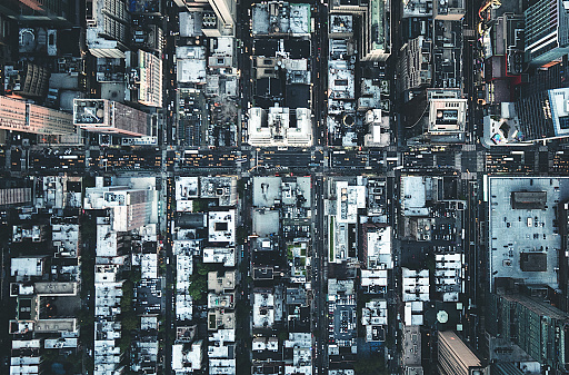 istock new york city aerial view of the downtown 598224046