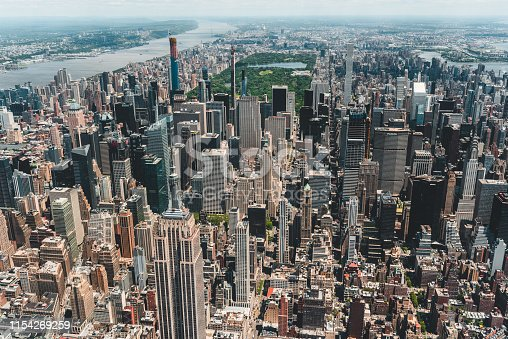598224046 istock photo New York City Aerial View 1154269259