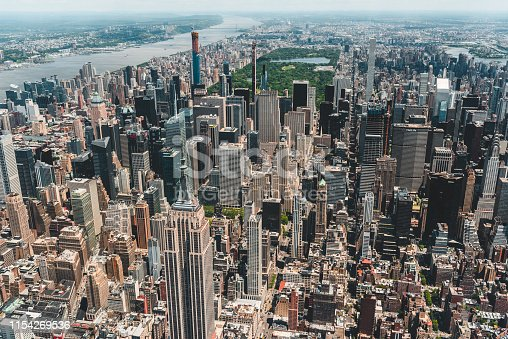 598224046 istock photo New York City Aerial View 1154269536