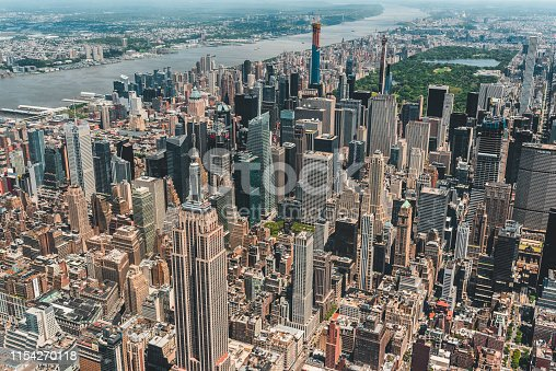 598224046 istock photo New York City Aerial View 1154270118