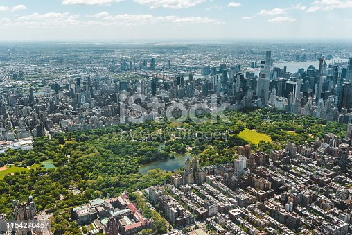 598224046 istock photo New York City Aerial View 1154270457