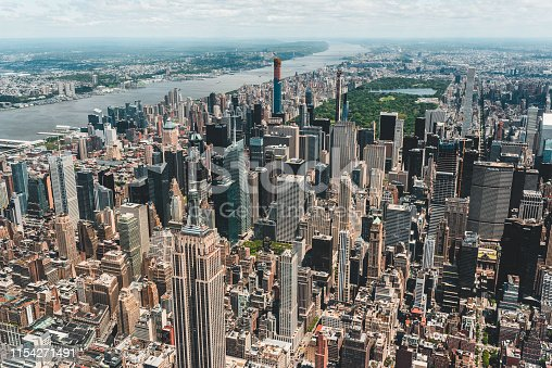 598224046 istock photo New York City Aerial View 1154271491