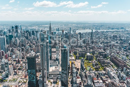 598224046 istock photo New York City Aerial View 1154273527