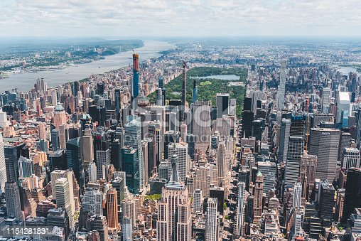 598224046 istock photo New York City Aerial View 1154281831