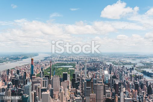 598224046 istock photo New York City Aerial View 1154281867