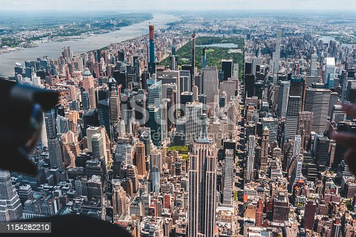 598224046 istock photo New York City Aerial View 1154282210