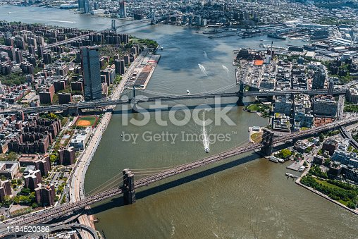598224046 istock photo New York City Aerial View 1154520386