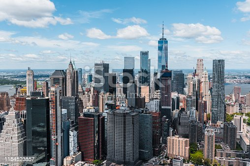 598224046 istock photo New York City Aerial View 1154523857