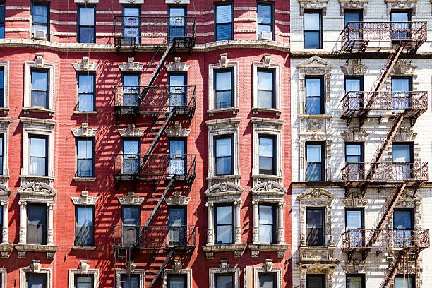 New York City Apartment Building stok fotoğrafı