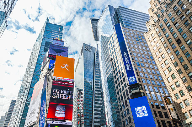 new york city architecture - mamma mia stock photos and pictures
