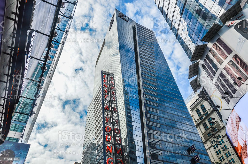 New York City Architecture - Times Square stock photo