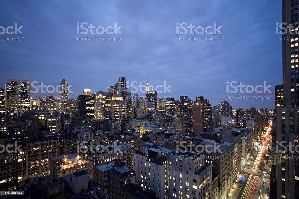 New York City background royalty-free stock photo