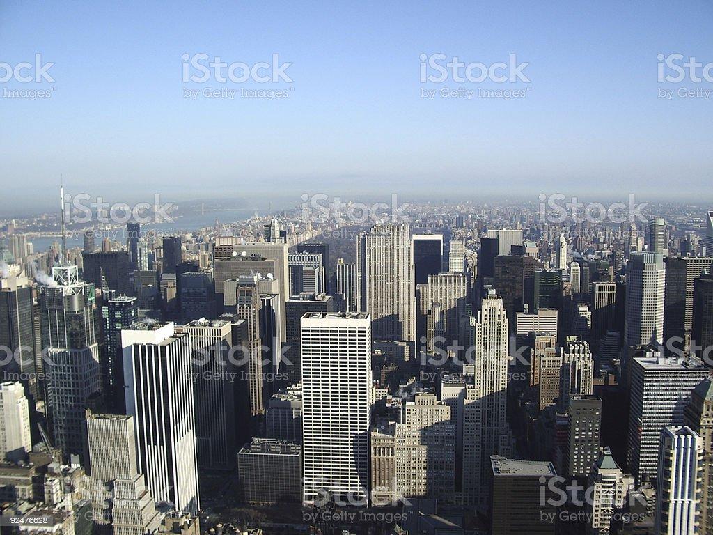 New York city blocks royalty-free stock photo