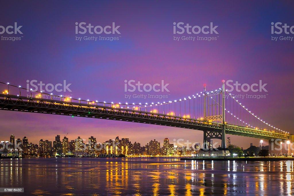 New York City Bridge stock photo