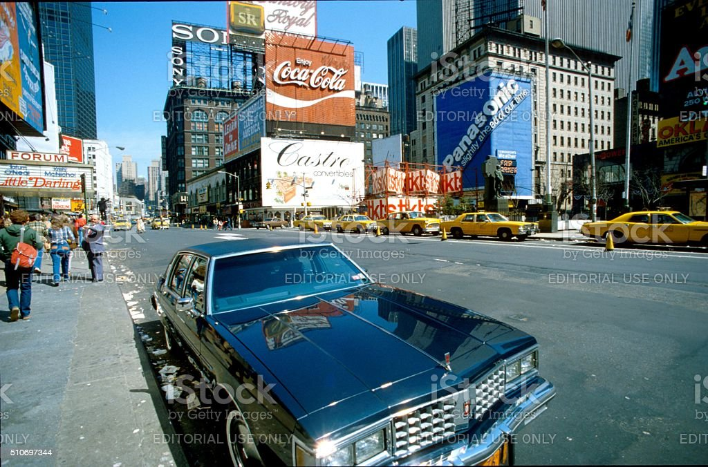 New York City, Broadway stock photo