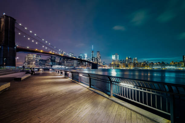 New York City-Brooklyn Bridge – Foto