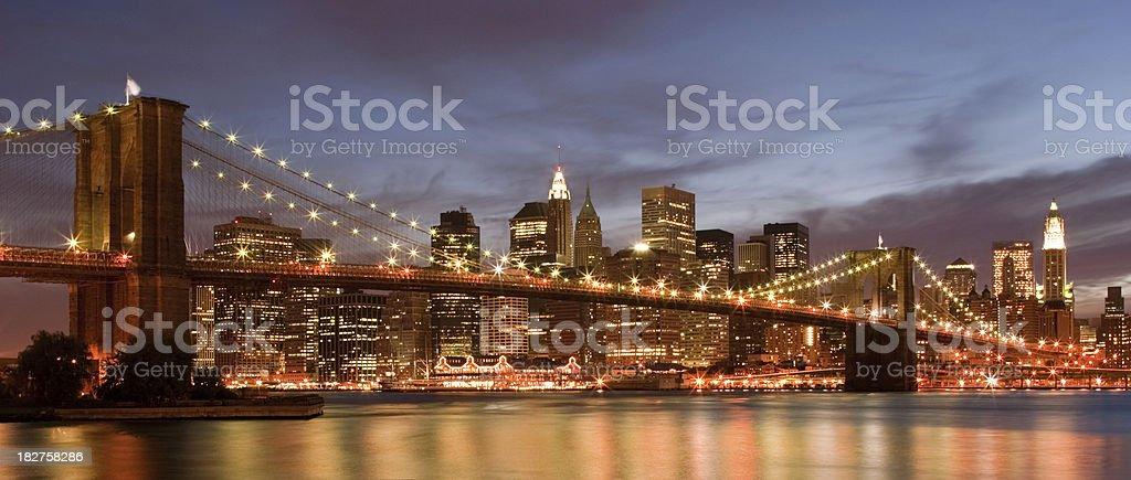 New York City - Brooklyn Bridge royalty-free stock photo