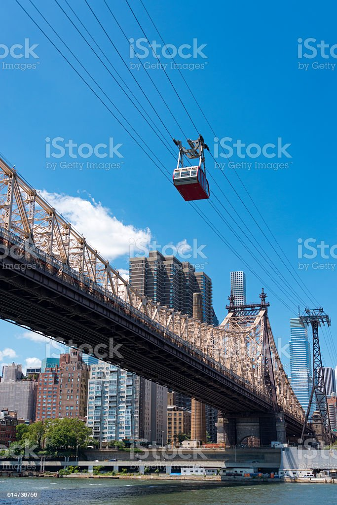 New York City cable car stock photo