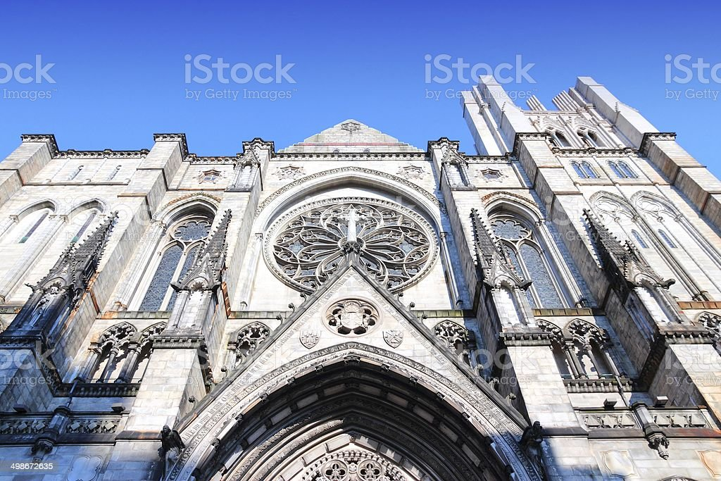 New York City Cathedral stock photo