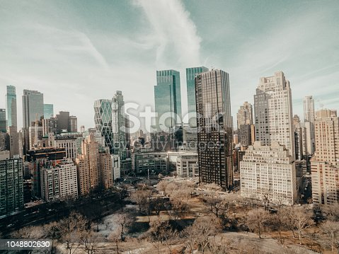 New York City during winter, Central Park