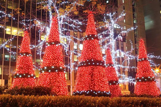 new york city: christmas-englische redewendung - new york new year stock-fotos und bilder