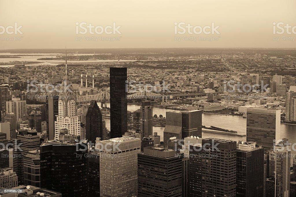 New York City eastside royalty-free stock photo
