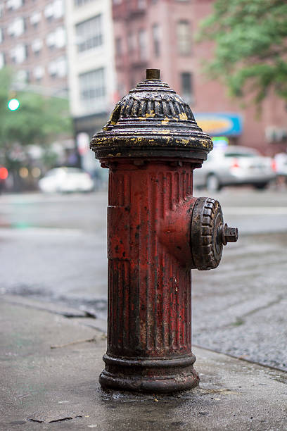 New York City fire hydrant New York City fire hydrant on third avenue fire hydrant stock pictures, royalty-free photos & images