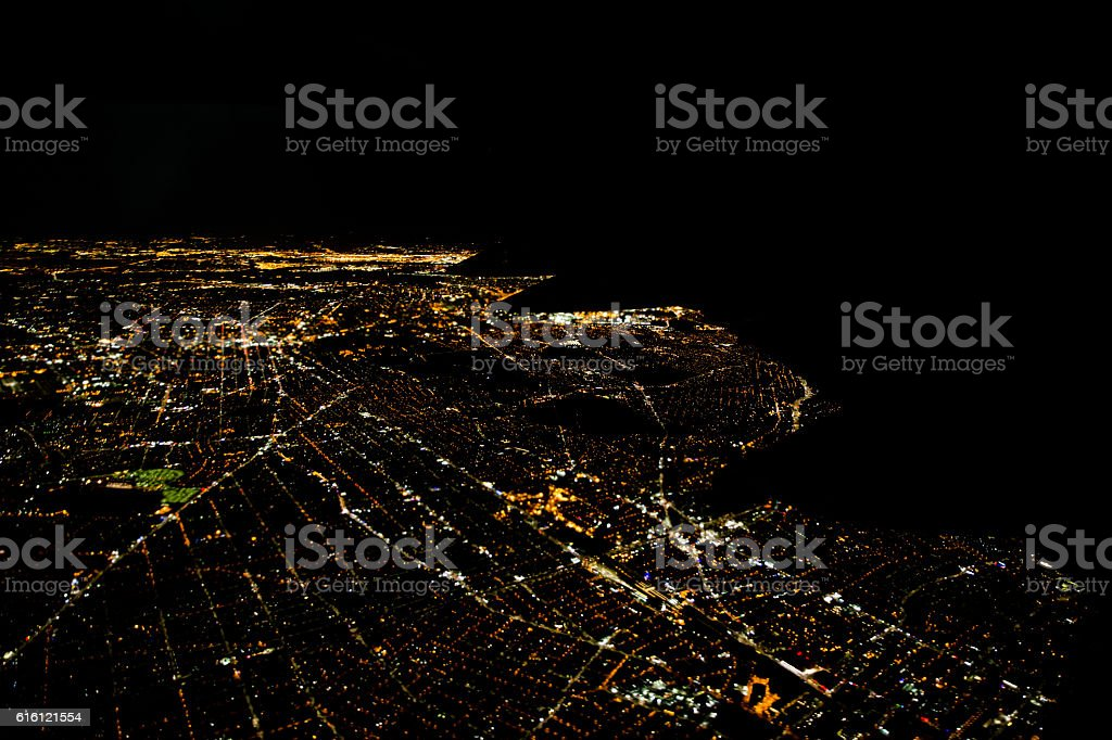 new york city from high - foto de stock