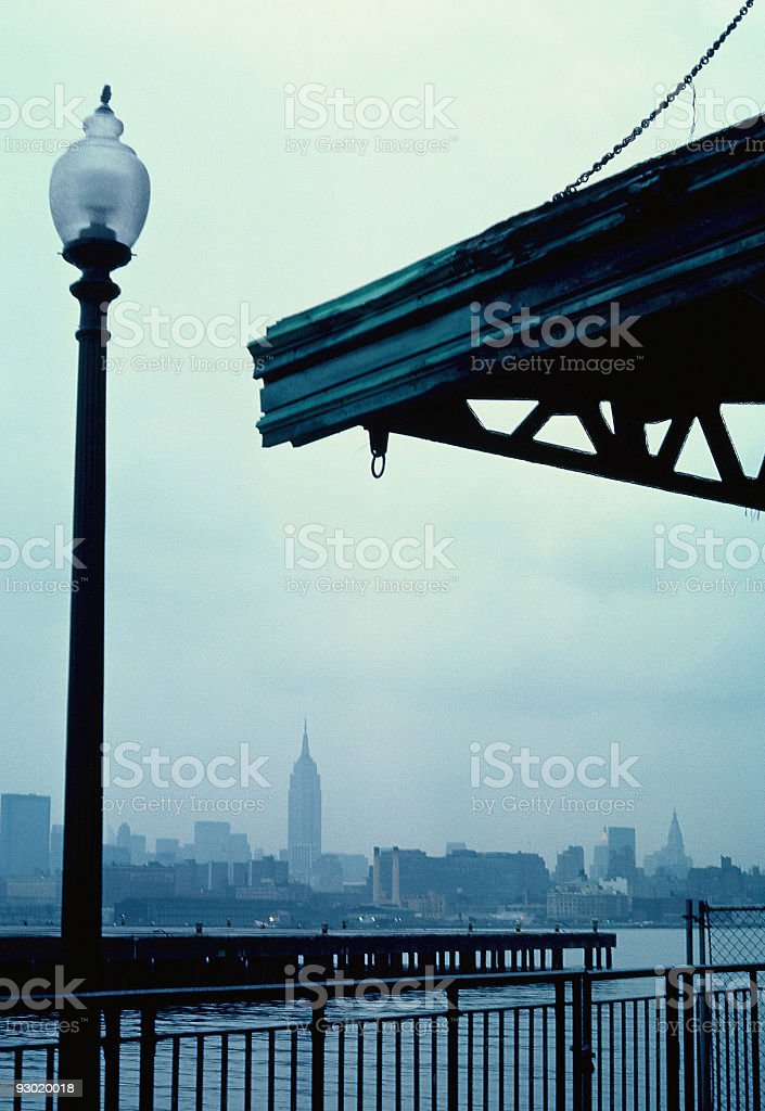 New York City from Hoboken royalty-free stock photo