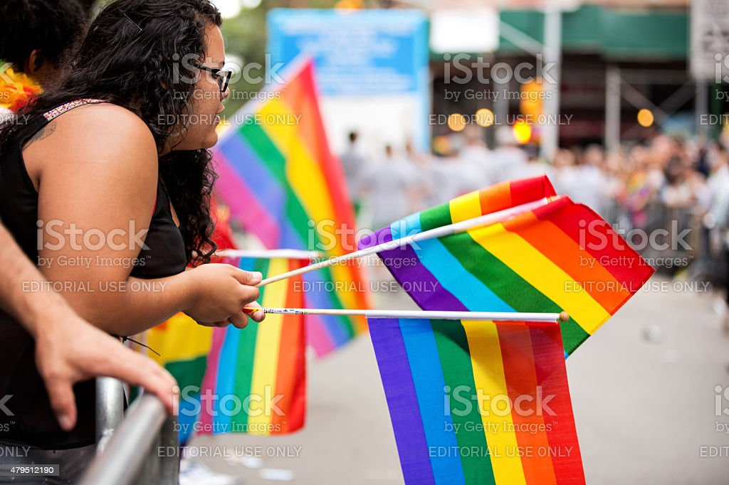La ville de New York à la Gay Pride Parade 2015 - Photo