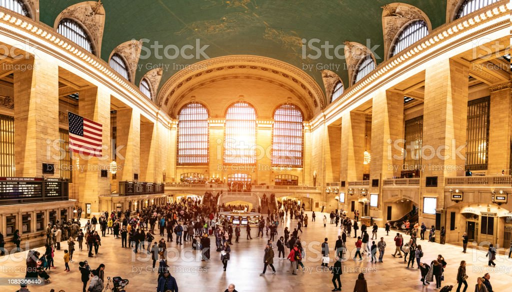 New York City Grand Central Terminal stock photo