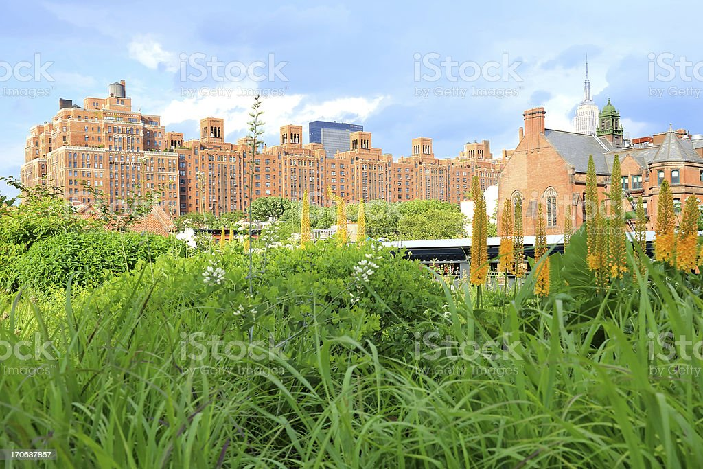 New York City: High Line royalty-free stock photo