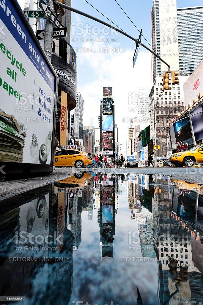 New York City life royalty-free stock photo