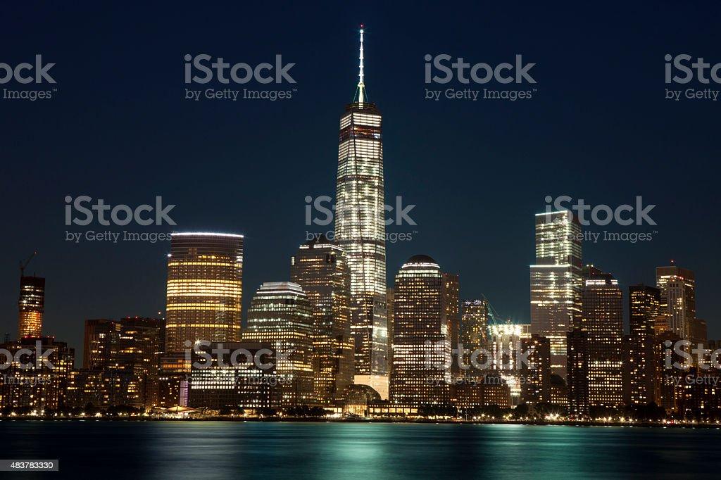 New York City - Lower Manhattan (2015) stock photo