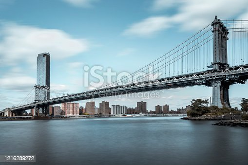 624265498 istock photo New York City, Manhattan Bridge 1216289272