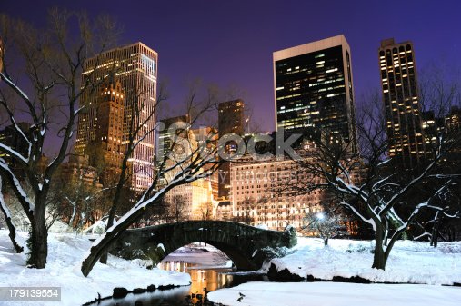 istock New York City Manhattan Central Park panorama at dusk 179139554