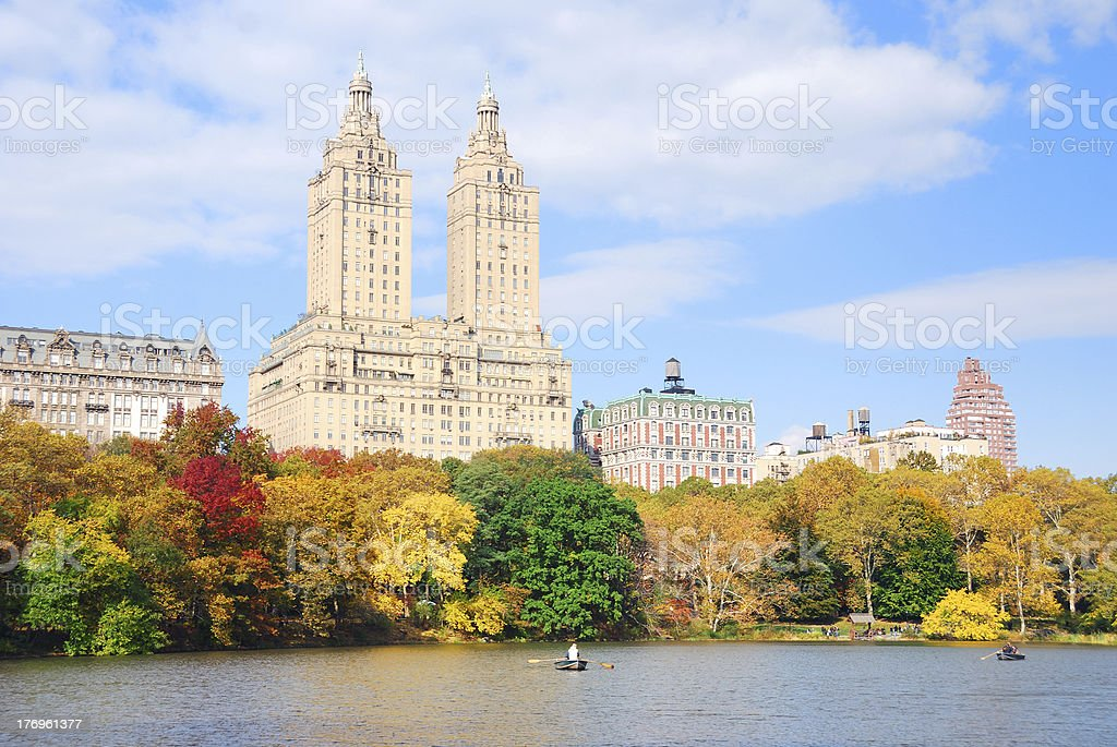 New York City Manhattan Central Park royalty-free stock photo