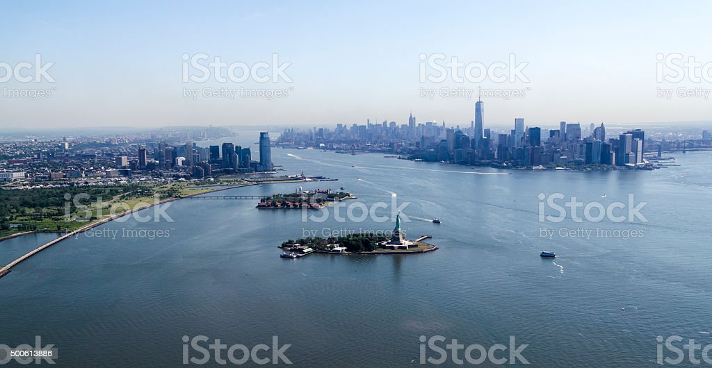 New York City - Manhattan overview stock photo
