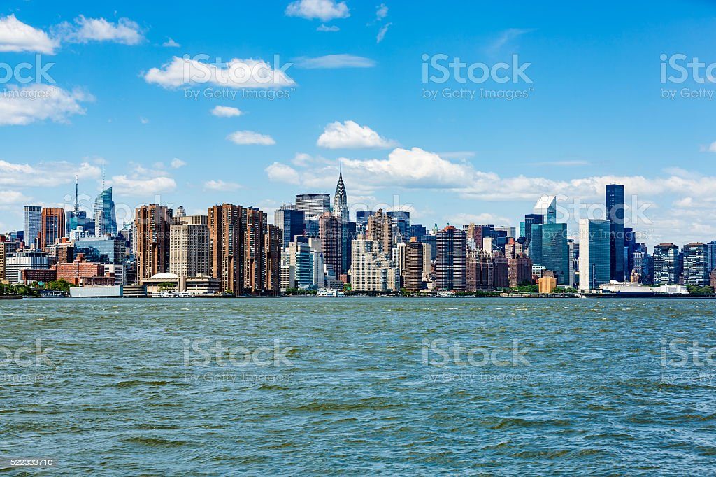 New York City, Middtown Manhattan, USA stock photo