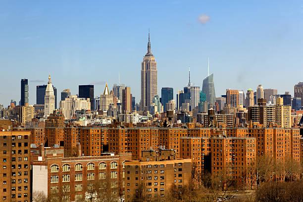New York City Midtown Manhattan Skyline stock photo