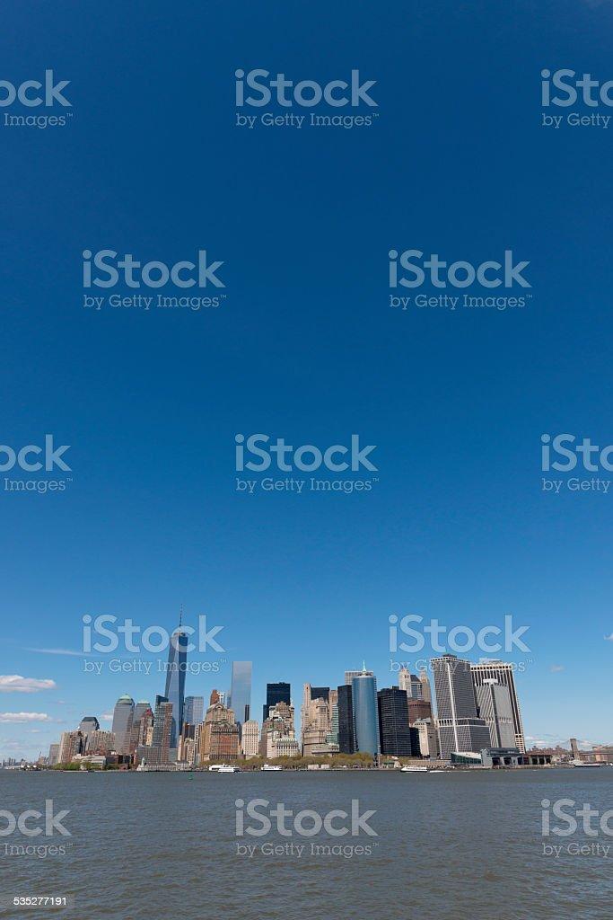 New York City. Midtown Manhattan skyline stock photo