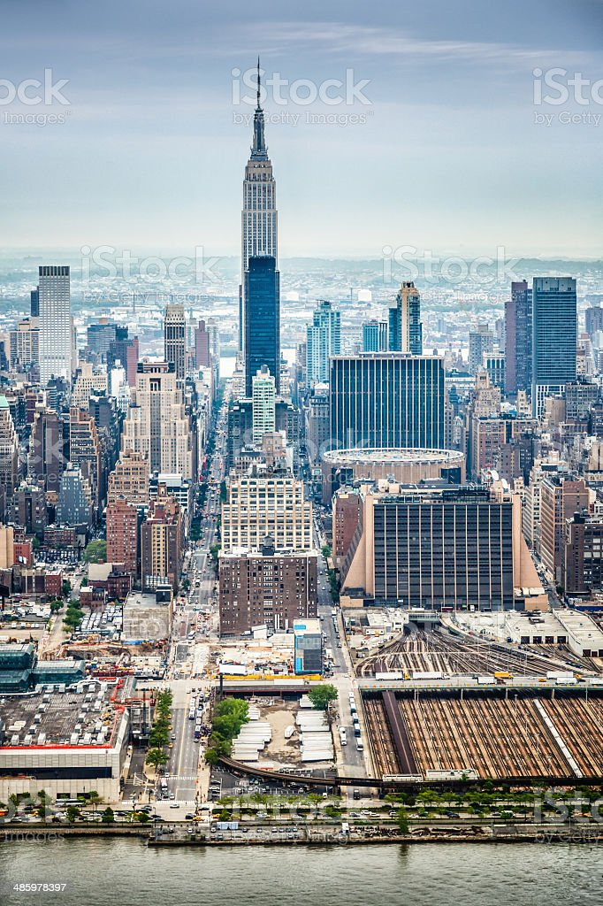 New York City, midtown Manhattan, USA stock photo