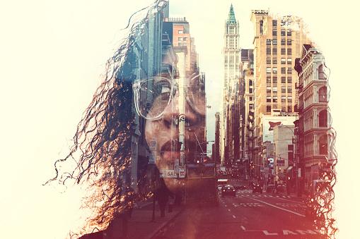 New York City Zihin Durumu Kavram Resmi Stok Fotoğraflar & 20'lerinde'nin Daha Fazla Resimleri