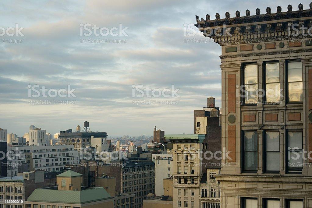 New York City Morning royalty-free stock photo